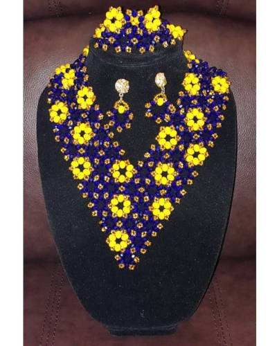 Elegant Trio  African Goods African Jewelry African Women Jewelry Fashion, Health & Beauty Jewelry Final Sale Hot Goods