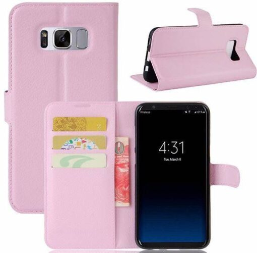 Samsung Galaxy S8 Leather Flip Wallet Case Cover  Free Shipping Electronics Phones & Tablets Phone Accessories Cases, Covers and Screen Protectors Final Sale Hot Goods