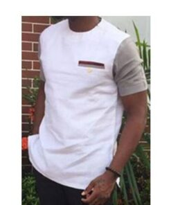 White Face Brown Shoulders African Men Top  African Clothing African Men Clothing Clothing, Shoes & Accessories