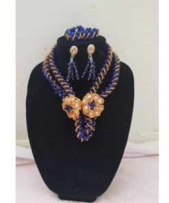 Transparent Mini Crystal Necklace  African Goods African Women Jewelry Final Sale Hot Goods