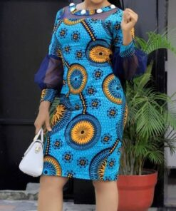 African Women Dress  African Goods African Clothing African Women Clothing Clothing, Shoes & Accessories