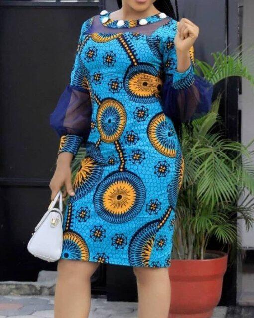 African Women Dress  African Goods African Clothing African Women Clothing Clothing, Shoes & Accessories