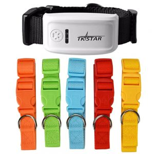 Real Time GPS Collar Tracker For Dog/Cat Free Shipping Electronics