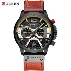 Casual Sport Watches for Men color: black black watch Men Watches