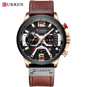 Casual Sport Watches for Men color: rose black watch Men Watches