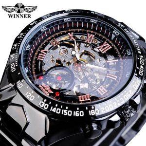 Men's Golden Skeleton Watch color: GMT852-2 Men Watches