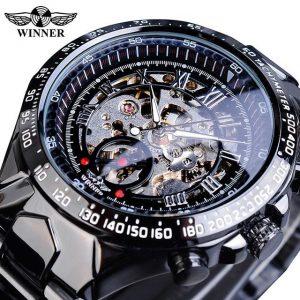 Men's Golden Skeleton Watch color: GMT852 Men Watches