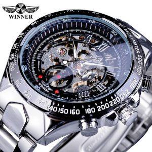 Men's Golden Skeleton Watch color: GMT107 Men Watches
