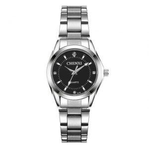 Women's Casual Waterproof Watch color: Black Dial Fashion Free Shipping Women Watches