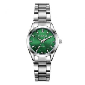 Women's Casual Waterproof Watch color: Green Dial Fashion Free Shipping Women Watches