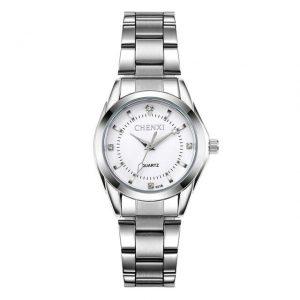 Women's Casual Waterproof Watch color: White Dial Fashion Free Shipping Women Watches