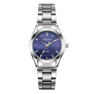 Women's Casual Waterproof Watch color: Blue Dial Fashion Free Shipping Women Watches