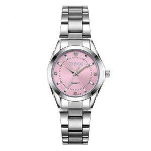 Women's Casual Waterproof Watch color: Pink Dial Fashion Free Shipping Women Watches