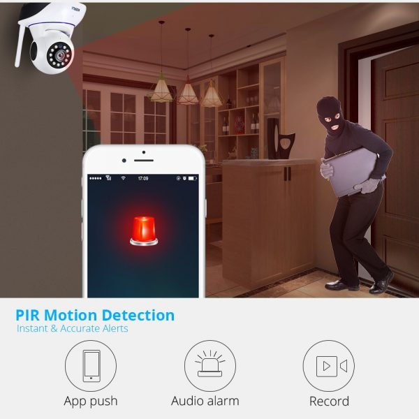Wireless Home Security IP Camera Free Shipping Consumer Electrics