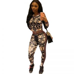 Women Winter Tracksuit Prints Clothing, Shoes & Accessories
