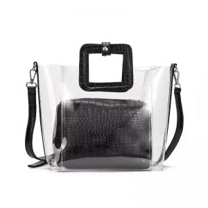 PVC Transparent Lady Handbag and Purse  Women's Bag Fashion, Health & Beauty