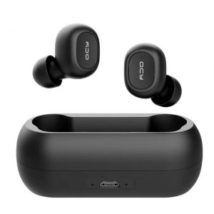 5.0 Bluetooth 3D Stereo Earphones with Dual Microphone color: Black Plug Type: Wireless Accessories Free Shipping