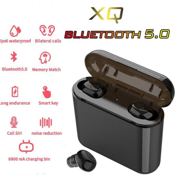 Bluetooth 5.0 Earbuds with Power Bank & Noise Cancellation Electronics Phones & Tablets Phones Phone Accessories