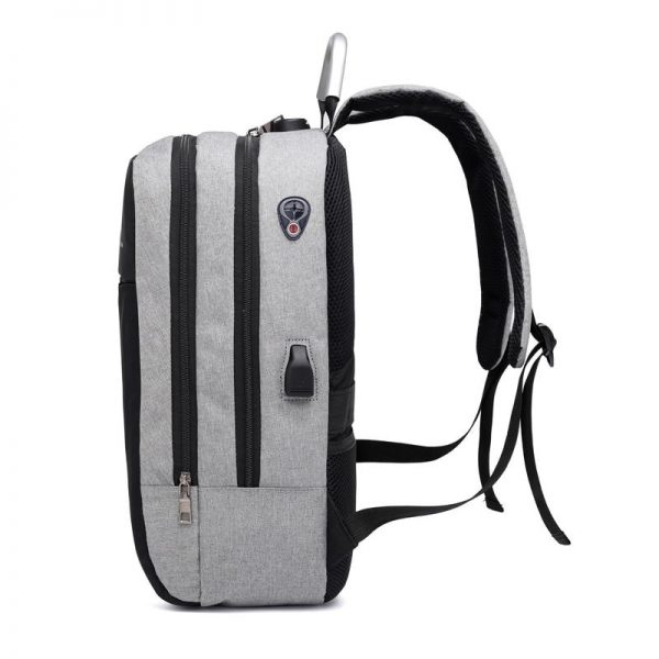 Men Multifunctional Anti Theft Backpack for 15.6″ Laptop Bags and Covers Computer Accessories Electronics Computers & Accessories