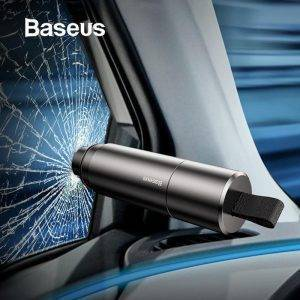 Baseus Mini Car Window Glass Breaker Seat Belt Cutter