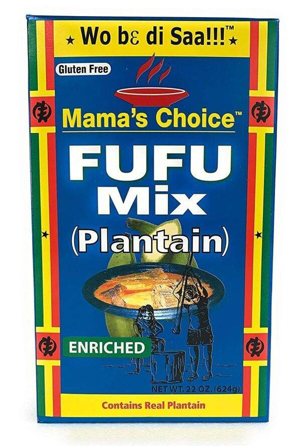 Mama's Choice Plantain Fufu Mix  African Groceries