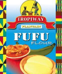 Tropiway Plantain Fufu Flour  African Groceries