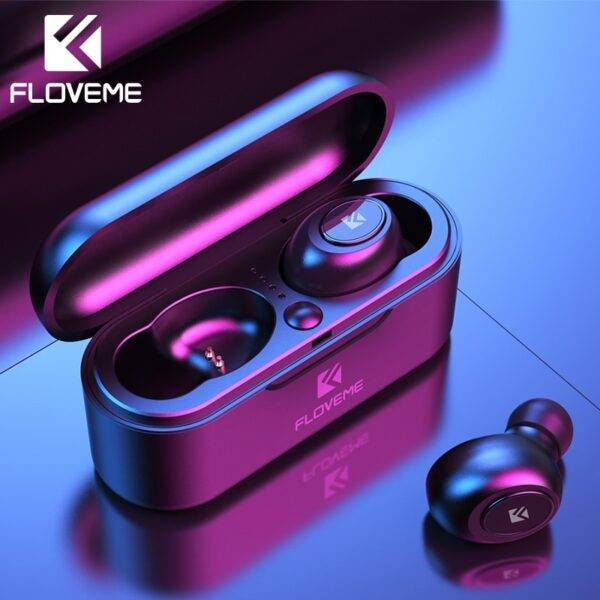 FLOVEME Mini TWS Wireless Bluetooth 5.0 Earbuds  Electronics Phones & Tablets Phones Phone Accessories